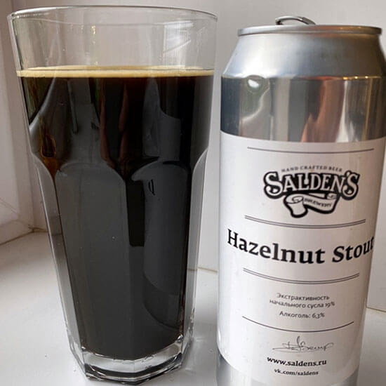 Salden's Hazelnut stout